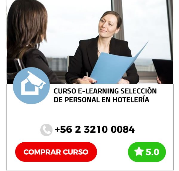 Curso E-learning Selección de Personal en Hotelería